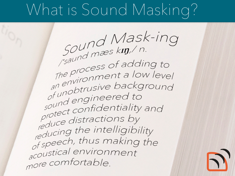 What is Sound Masking