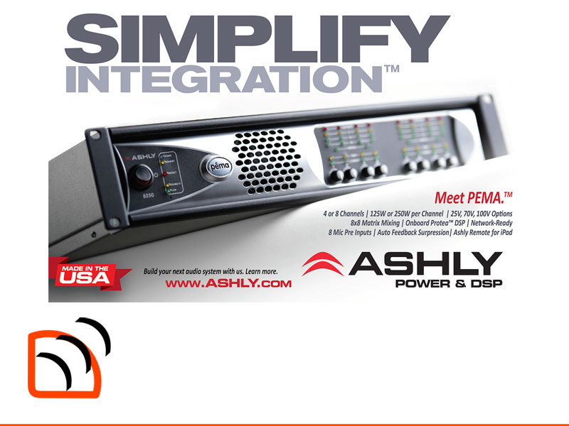 Ashly Audio Pema Advert Image