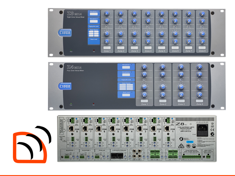 Cloud Z8 Z4 Venue Zone Mixer Image