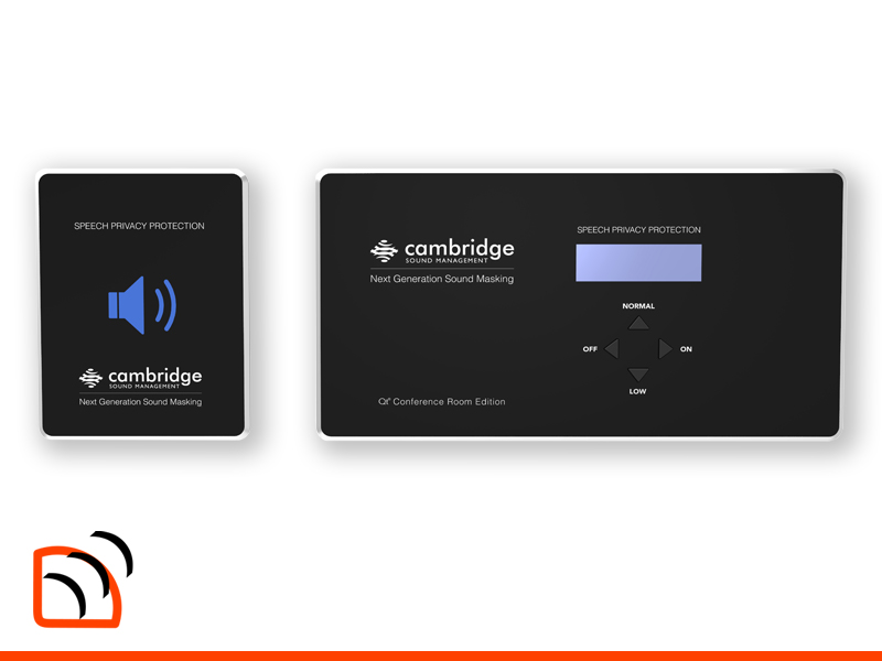 Cambridge Sound Management QT Conference Sound Masking System Image