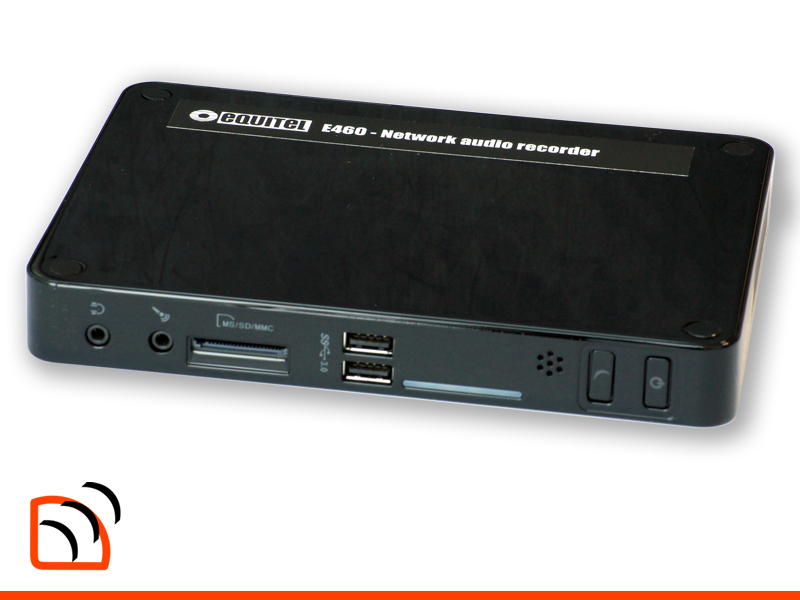 Equitel E460 Network Audio Recorder Image