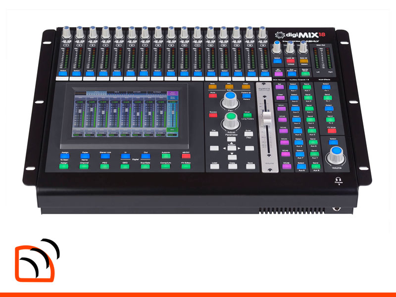Ashly Audio digiMix18 Digital Mixer Image