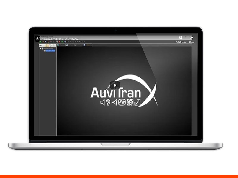 AuviTran AMSMonitor Software Video Image